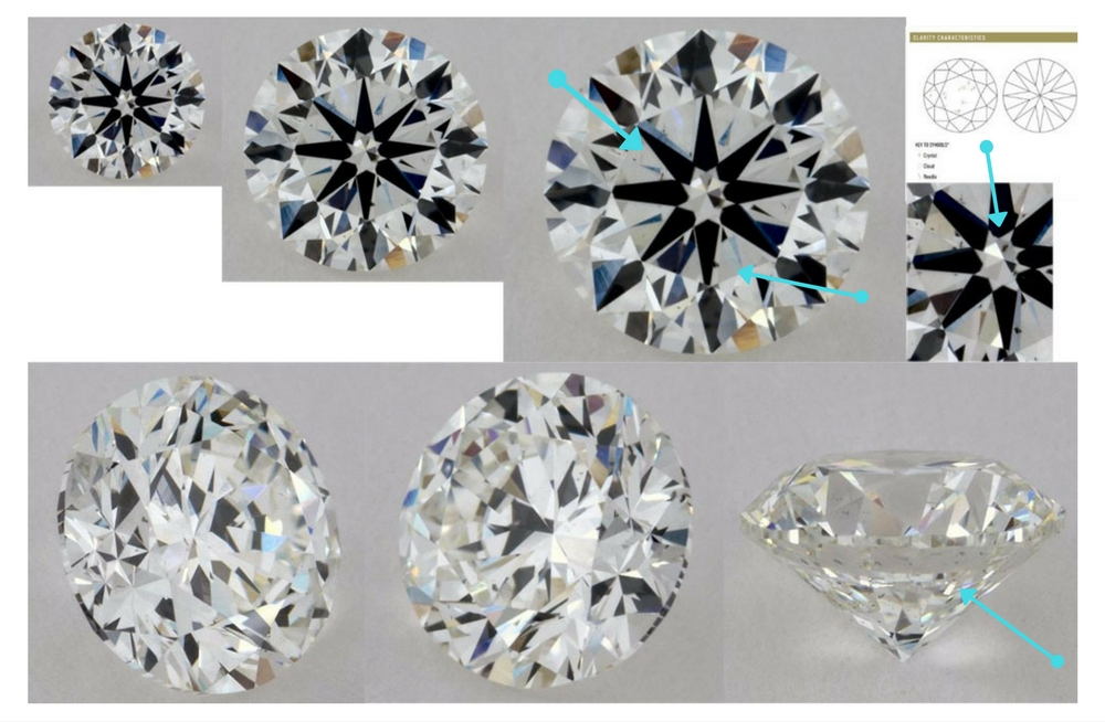 round carat d diamond en brilliant g gia vs