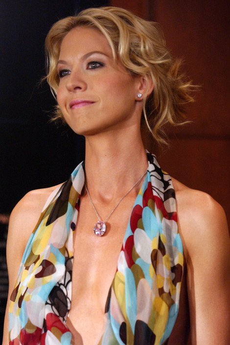 Jenna Elfman pink diamond