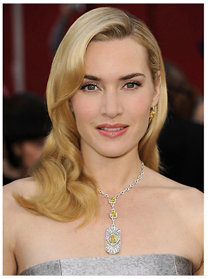 Kate Winslet yellow diamonds